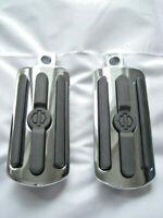 Harley Davidson Chrome & Rubber Fußrasten Fussrasten groß 50130-95A