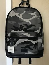 New FOSSIL Men's Grey Camouflage Estate Canvas BackPack