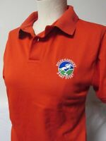 ROLEX KENTUCKY 3 DAY EVENT EQUESTRIAN HORSE SHOW RED POLO SHIRT EMBROIDERY XS
