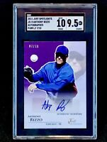 2011 Just Spotlights 7/10 Anthony Rizzo Rookie Auto SGC 10