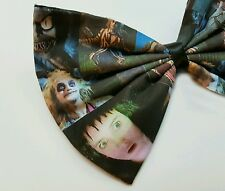 Beetlejuice Movie Lydia Deetz Printed Hair Bow