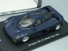 1/43 Spark KB PORSCHE SCHUPPAN 962 CR 1994 (BLUE METALLIC), JAPAN