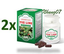 2 Bottles = 120 Tablets Tue Linh Liver Health Detox,Hepatitis,Cirrhosis Natural