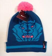 Nike Lebron James King Lion Knit Cuff Beanie with Pom Pom Youth Boys 8-20 NWT