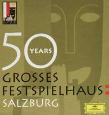 New: 50 YEARS - Grosses Festspielhaus Salzburg (25 CD SET!) Deutsche Grammophon