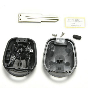 Remote Key Shell fit for SSANGYONG Actyon Kyron Rexton Case Cover MDAU J  ho