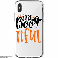 Just Bootiful Halloween iPhone 11 / Galaxy Clear Phone Case