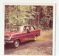ANNI '60 OPEL KADETT BICOLORE FOTO ORIGINALE AUTO cm 9 x 9