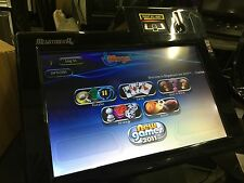Merit Megatouch 2011 Software RX Touchscreen Video Game System VGC & Free Shipn.