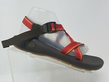 Chaco Z1 Classic Womens Sandal Size 12 Red Orange Canvas Waterproof Hiking Shoe