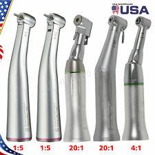 Dental 15 Led Fiber Optic 41 201 Contra Angle Handpiece For Nsk Sirona