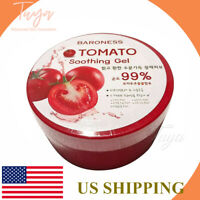 Made In Korea tomato SOOTHING & MOISTURE GEL 99% Pure 300ml (10.58oz )