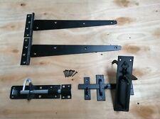 "Tee bisagra puerta de madera de 14"" pares Kit de montaje de jardín portón Suffolk Set 350MM"
