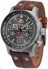 Reloj Hombre Vostok Europe Expedition 6S21-595H298 de Cuero Marr¥n