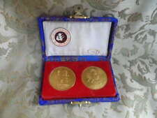 1st East Asian Games 24k Plated Medal / Coin Set
