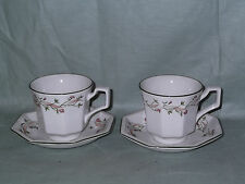 Johnson Brothers Eternal Beau 2 Cups & Saucers