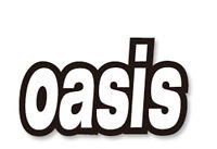 Oasis Logo Car Bumper Sticker Decal 6 X 3