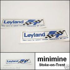 Classic Mini British Leyland ST Special Tuning Rocker Cover Sticker x2 PAIR maxi