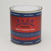 Premier Hull & Topside Yacht Paint 1 L - Pure White Polyureathane
