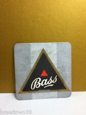 Bass Irish beer square coaster coasters 1 minor staining S9