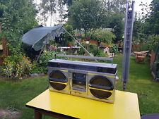 Sharp GF 9000 Ghettoblaster Stereo Radiorecorder alt retro made in Japan