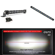 34cm 13.4inch 120W Flood LED Work Light Bar Offroad 4WD ATV SUV Driving Lamp 1pc