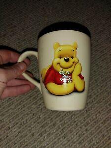 Disney Winnie the Pooh with Flowers Coffee Tea Cappuccino Mug Cup