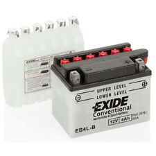 Batterie moto Exide YB4L-B EB4L-B 12V 4AH 120X70X92MM ACIDE COMPRIS