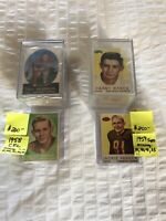 1958 CFL Football And 1959 CFL Topps Almost Complete Sets Lot Sale Jackie Parker