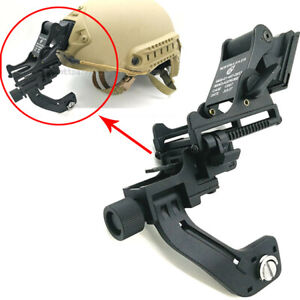 Tactical helmet Mount J arm for single tube night vision Goggles GS1X 20 pulsar