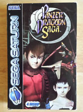 Panzer Dragoon Saga (Sega Saturn PAL 1998) 100% Complete Tested & Working