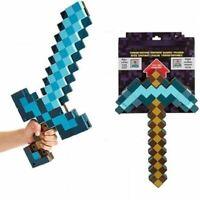MINECRAFT Design Blue Diamond Sword Soft EVA Foam Toy