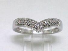 Diamant Ring 585 Weißgold 14Kt Gold 38 Diamanten 0,10ct Wesselton