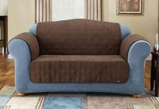 Sure Fit Sofa Ultimate Waterproof Furniture Cover/Brown/Non-slip backing