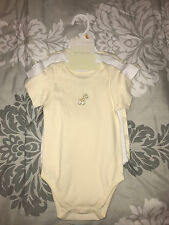 First impressions set of three body suits. NWT. Unisex size 12 mos