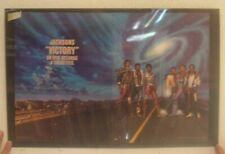 Jacksons Poster Trade Ad Victory The Michael