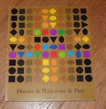 HISTOIRE DE L'UNIVERSITE DE PARIS - PARIS 1973