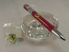 FERRARI OFFICIAL LICENSED PRODUCT TWIST BALL POINT PEN WITH FREE OFFICIAL FERRAR