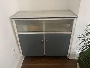 Vintage 1950s kitchen cabinet
