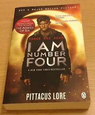 I AM NUMBER FOUR Pittacus Lore Book (Paperback)
