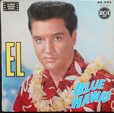 ELVIS PRESLEY BLUE HAWAII EP French 1962