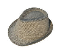 092ed2a8f83cd8 1pcs Unisex Panama Style Fedora Trilby Gangster Cap Short Brim Hat