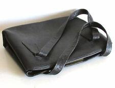 Vintage Leather Handbag Bag Clutch Ladies Purse ROLFS Marshall Fields FREE SH