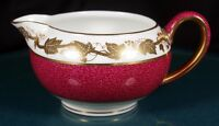 Wedgwood Whitehall Powder Ruby Creamer - W3994 - 1st Quality
