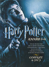 Harry Potter : années 1 - 6 / The first 6 movies (6 DVD)