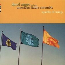 Republic of Strings, Darol Anger & American Fiddle En, New Import
