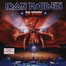 IRON MAIDEN - EN VIVO! LIVE 2 PICTURE LP LIMITED EDITION IN GATEFOLD SLEEVE