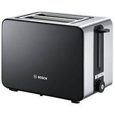 Bosch Sky Kettle Twk7203gb & Toaster TAT7203GB Set Stainless Steel Black