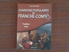 CHARLES BEAUQUIER CHANSONS POPULAIRES DE FRANCHE COMTE ED CPE 2012