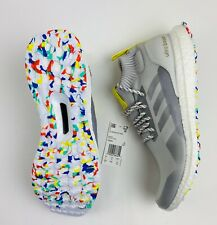 Adidas Ultra Boost Mid Running Shoes G26842 Grey White Men's Size 10.5 New